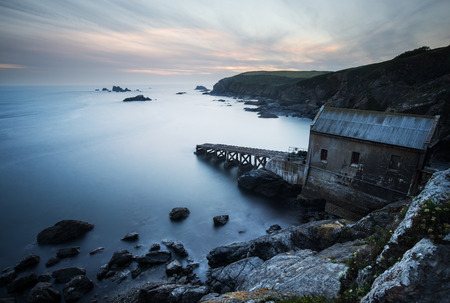 lifeboat station: LIzard Point Lifeboat Station south Cornwall