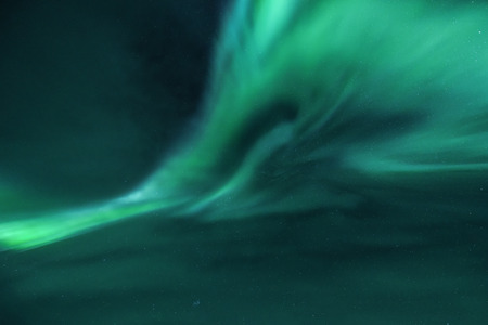 artic: Northern Lights over the Artic Circle