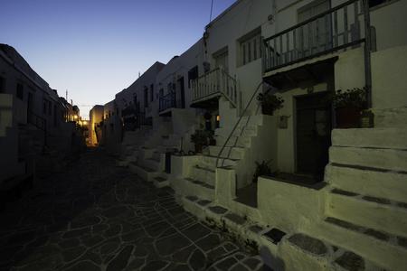 Greek Architecture Cyclades Stock Photo