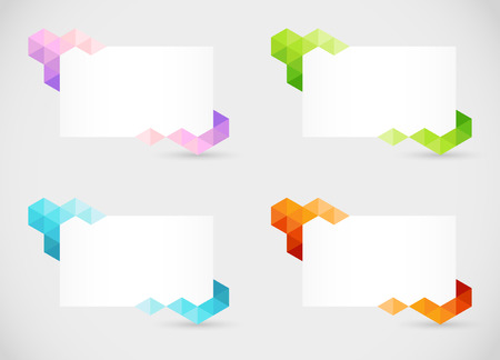 text boxes: Abstract Text Boxes 2
