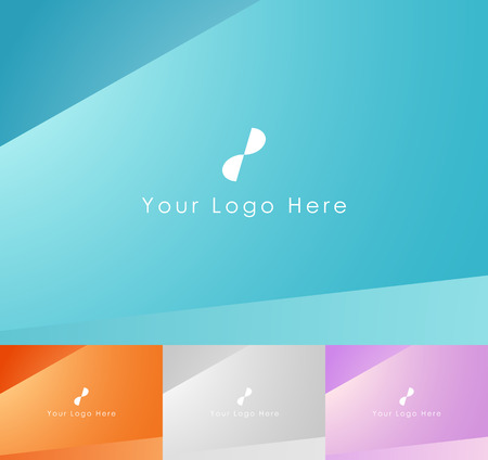 Abstract Simple Soft Background Pack Illustration