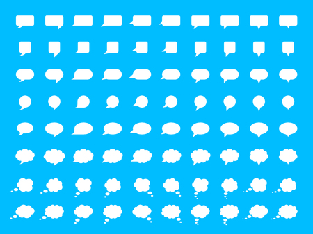 Vector Speech Bubble Set Reklamní fotografie - 40004651