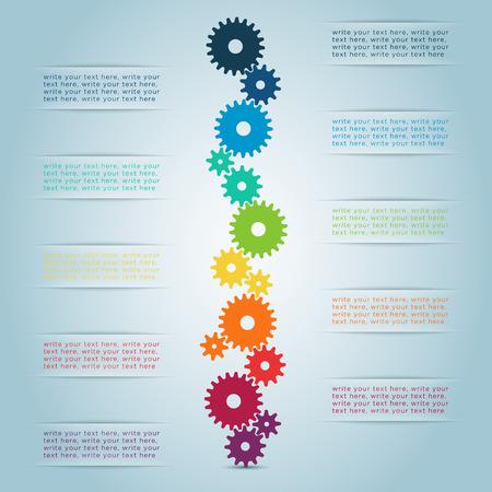 Infographic Cog Steps 1