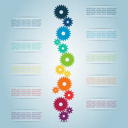 Infographic Cog Steps 1