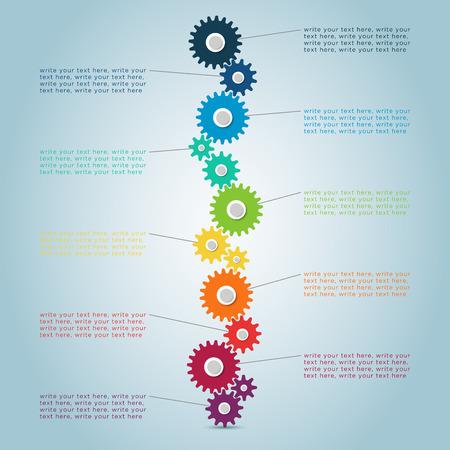 Infographic Cog Steps 2