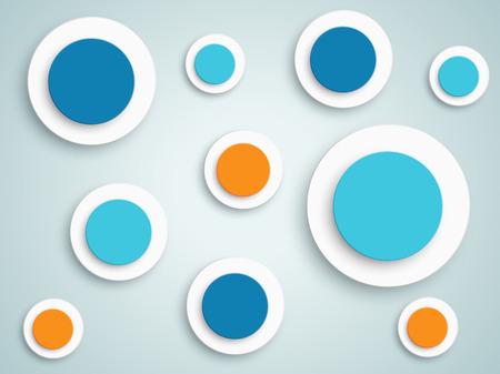 Abstract Circle Vector Background 4 Illustration