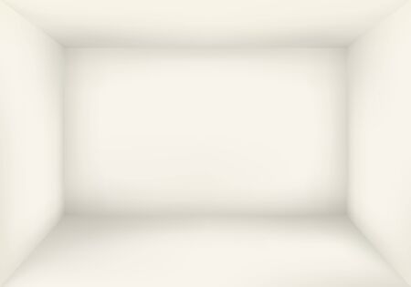 Blank Warm White Room Background Vector 向量圖像