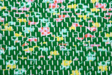 original texture of a handmade woven runner, using old technology and modern design Stock Photo - 3525949