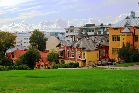 Turku –Finland city in summer,  north Europe