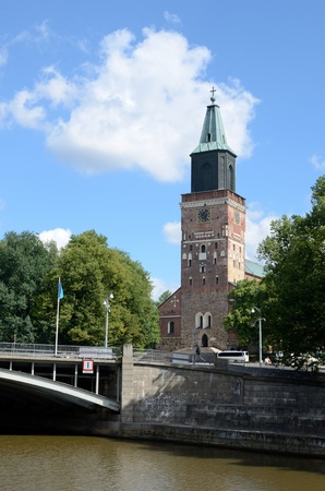 suomi: Turku Cathedral is Mother Church of the Evangelical Lutheran in Finland