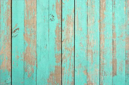 Houten structuur aqua kleur voor het beeld. Dichtbij. Stockfoto