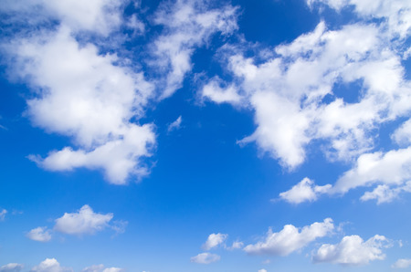 sky clouds: blue sky with clouds