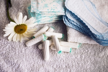 女らしい衛生学 - 美容トリートメント 写真素材