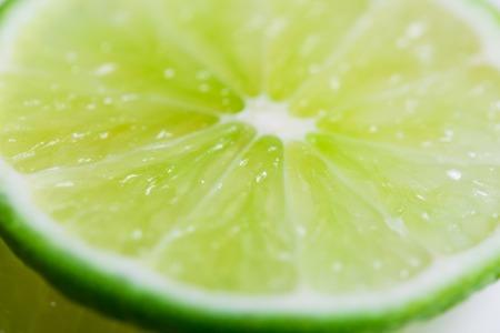 Lime slices background. Citrus