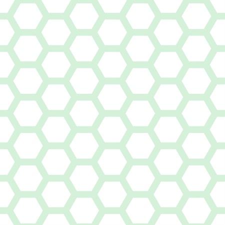 Seamless geometric pattern with honeycombs Illustration