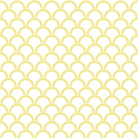 Seamless wave pattern 向量圖像