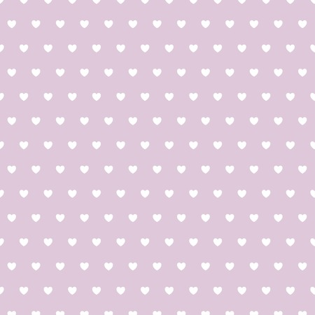 Abstract heart seamless pattern. Ilustracja