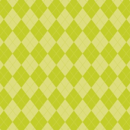 Spring Argyle Pattern