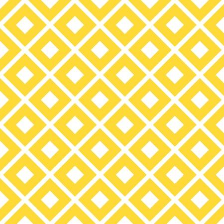 yellow diamond Rhombus pattern