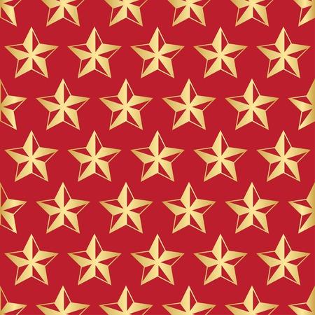 Stars Christmas pattern