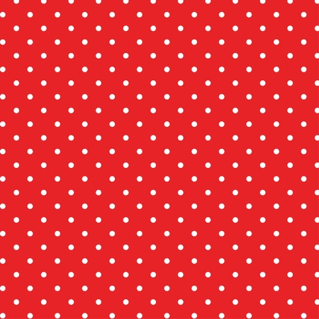 Seamless polka dot background pattern Ilustracja