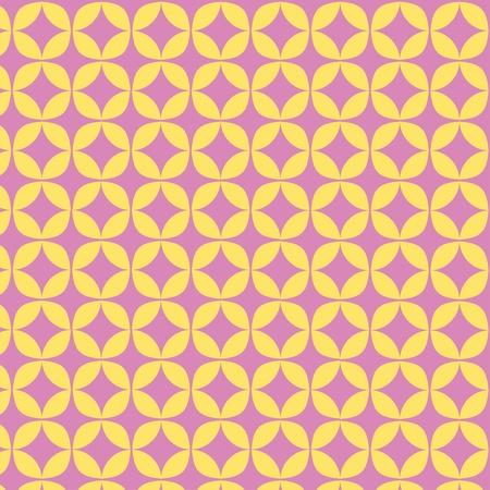 Spring Geometric Circle Pattern