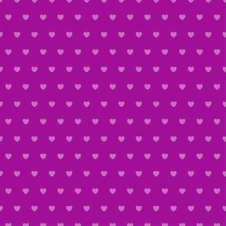 Abstract heart seamless pattern. Ilustrace