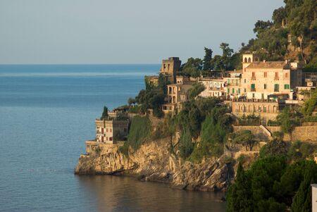 the coastal amalfitana of Ravello contrada Marmorata photo