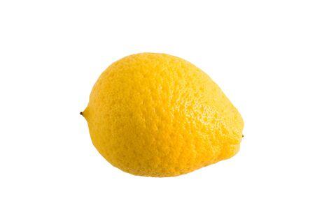 sweet segments: slice and yellow lemon isolated on white background  Stock Photo