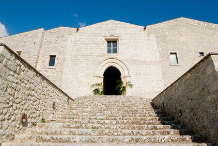 caltabellotta: staircase cathedral of Caltabellotta