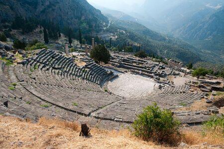 delfi: The theater at Delphi