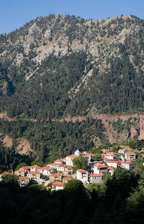 evritania: Fidakia is a village located in mountain covered pine forests of Evritania, Greece