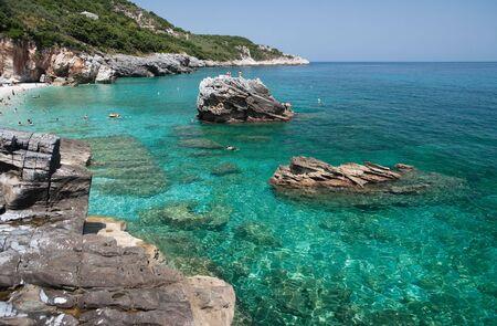 beach of Mylopotamos - Tsagarada - one of the most beautiful beaches of Pelion, Greece