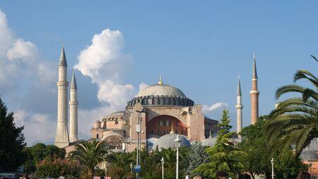 aya: Aya Sofya Mosque in Istanbul, Turkey