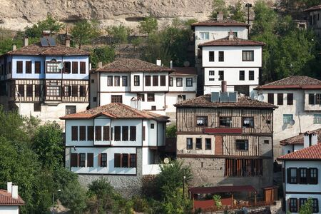 traditional houses ottoman in old village of Safranbolu, Turkey