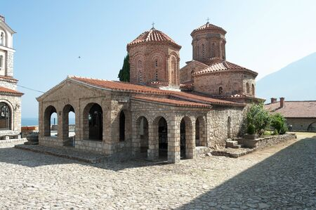 the monastery of Sveti Naum on lake Ohrid, south of the city of Ohrid, republic of Macedonia Stock Photo - 11805029