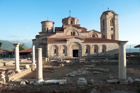panteleimon: Sveti Kliment i Panteleymon is a church of recent construction, it is situated opposite the oldest church in Ohrid, which has the same name - Republic Of Macedonia Editorial