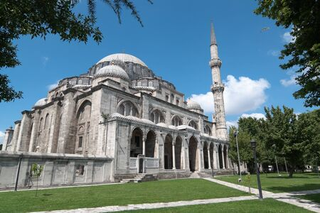 magnificent Suleymaniye mosque in Istanbul, Turkey Stock Photo - 11813191