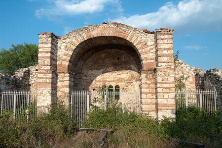 old ruins of church St. Nicholas in Melnik, Bulgaria Stock Photo - 11813210