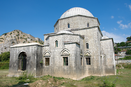 albania: Lead Mosque is an Ottoman architecture in Shkoder, Albania