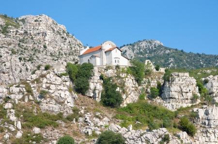 rubik: Church of the Ascension in Rubik, Albania Stock Photo