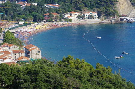 predominantly: Petrovac is a popular summer beach resort, its visitors coming predominantly from Montenegro and Serbia