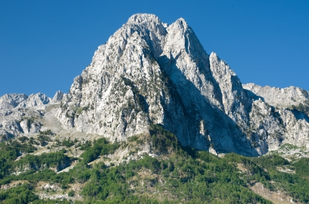 cursed: top of albanian Alps along the road from Boge to Theth National Park