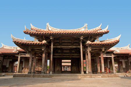 Un temple de style chinois historiques.  Banque d'images - 5604787