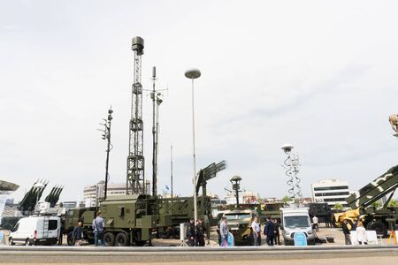 BELARUS, MINSK, 17 May 2019: 9th International Exhibition of Armament and Military Equipment Milex -2019 報道画像