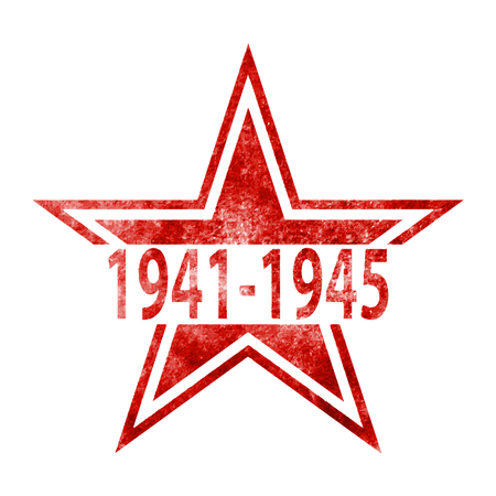 Victory Day. 9th May.9 May design vector graphics.Vector illustration.Vector illustration in grunge style on a white background Illustration