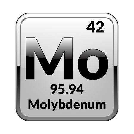 Molybdenum Symbolemical Element Of The Periodic Table On A
