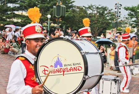 Disney Land Hong Kong parade