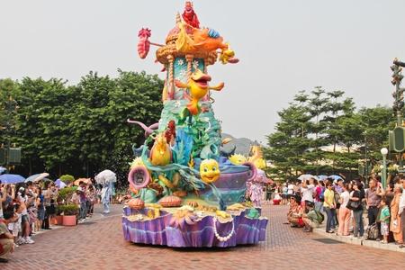 Disney Land Hong Kong parade