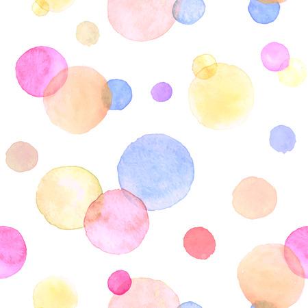 pastel color: Watercolor texture. Illustration